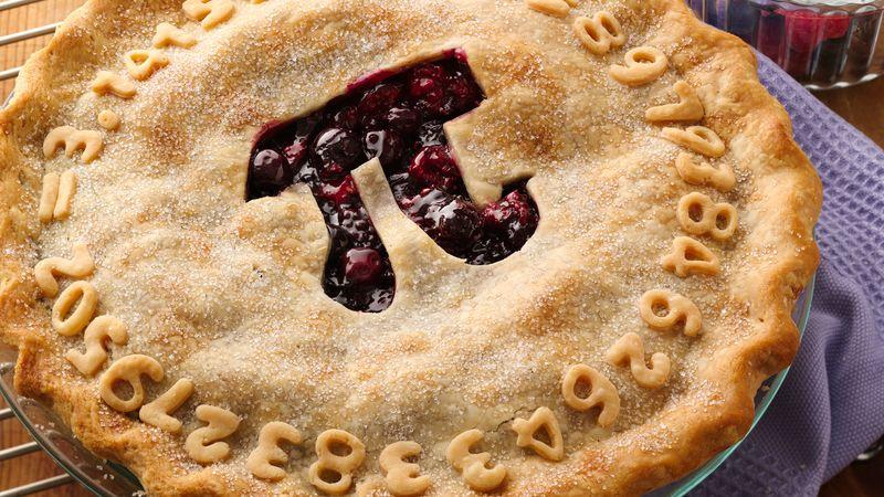 Pillsbury.com Triple Berry Pi Day Pie