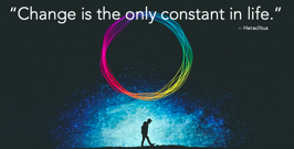 Change is the only constant...