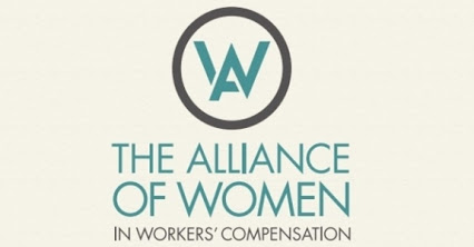 The Alliance of Women in Worker's Compensation Logo